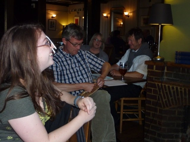 Public Reading at Pelham Arms
