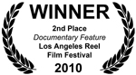 2nd Place Documentary Feature Winner